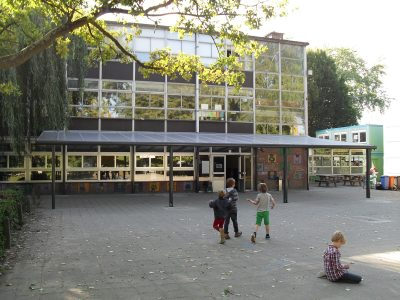 Covered playground