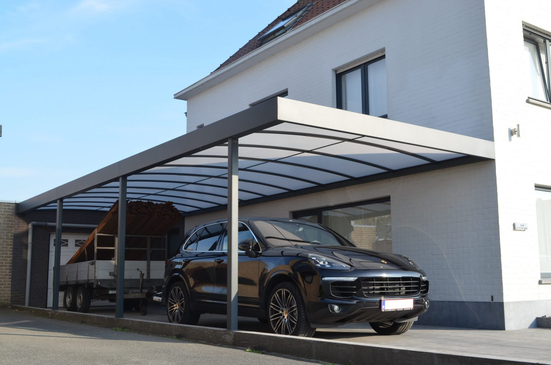 Lange carport | collectie Lignium/Sienna
